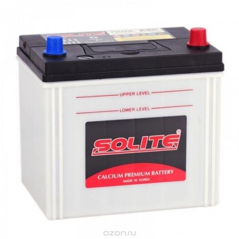 Аккумулятор Solite 75D23L (65Ач) ОП 550А с бортом