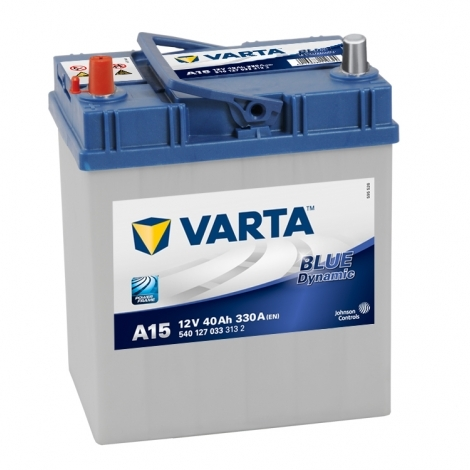 Аккумулятор Varta Blue Dynamic А15 (540 127 033) 40 Ач ПП узкая клемма