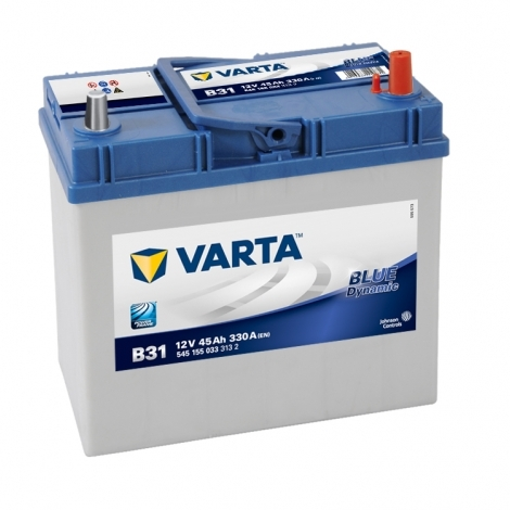 Аккумулятор Varta Blue Dynamic В31 (545 155 033) 45 Ач ОП узкая клемма