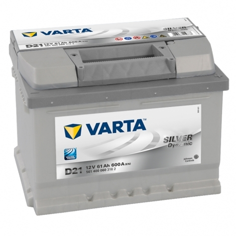 Аккумулятор Varta Silver Dynamic D21 (561 400 060) 61 Ач ОП низкая