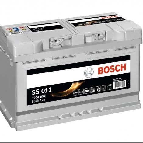 Аккумулятор Bosch S5 011  (585 400 080) 85 Ач ОП