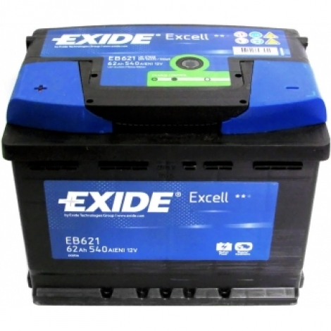 Аккумулятор Exide EXCELL EB 621