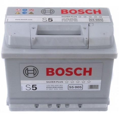 Аккумулятор Bosch S5 005  (563 400 061) 63 Ач ОП