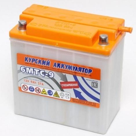Аккумулятор Курск 6МТС-9 (конусные клеммы)