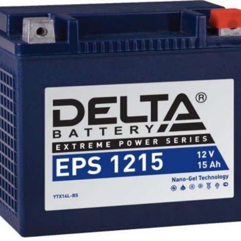 Аккумулятор Delta 12V EPS 1215