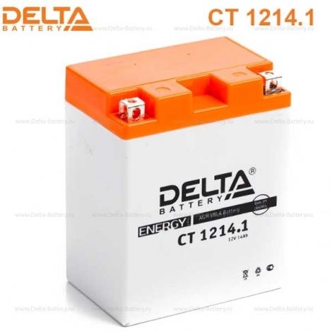 Аккумулятор Delta 12V CT 1214.1