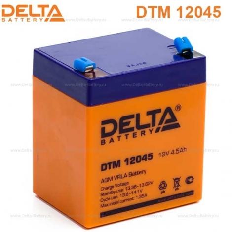 Аккумулятор Delta 12V DTM 12045
