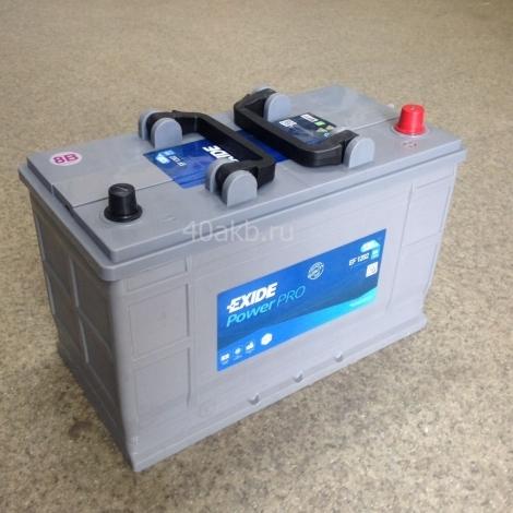Аккумулятор EXIDE Heavy Professional Power EF1202 (12V 120Ah)