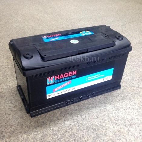 Аккумулятор HAGEN 59013 ПП (12V 90Ah)
