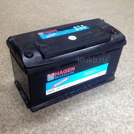 Аккумулятор HAGEN 59050 ПП (12V 90Ah)
