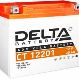 Аккумулятор Delta 12V CT 12201 20Ач