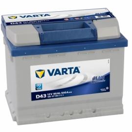 Аккумулятоh Varta Blue Dynamic D43 (560 127 054) 60 Ач ПП