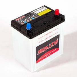 Аккумулятор Solite 44B19L (44Ач) ОП 350А CMF44L с бортом