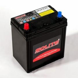 Аккумулятор Solite 44B19R (44Ач) ПП 350А CMF44R с бортом