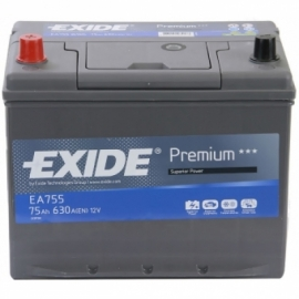 Аккумулятор Exide PREMIUM EA755 75 Ач ПП высокая