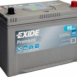 Аккумулятор Exide PREMIUM EA954 ОП высокая