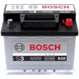 Аккумулятор Bosch S3 005  (556 400 048) 56 Ач ОП