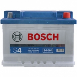 Аккумулятор Bosch S4 004 (560 409 054) 60Ач ОП низкая