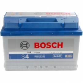Аккумулятор Bosch S4 007 (572 409 068)  72 Ач ОП низкий