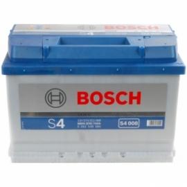 Аккумулятор Bosch S4 008 (574 012 068)  74 Ач ОП