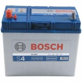 Аккумулятор Bosch S4 022 (545 157 033) 45 Ач ПП узкие клеммы