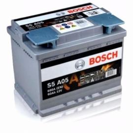 Аккумулятор Bosch S5 A05  (560 901 076) 60 Ач ОП AGM