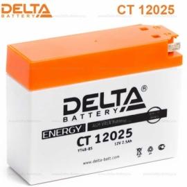Аккумулятор Delta 12V CT 12025