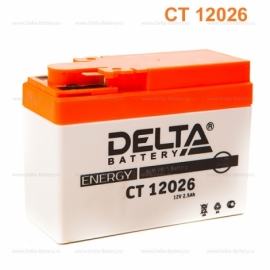Аккумулятор Delta 12V CT 12026