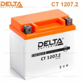 Аккумулятор Delta 12V CT 1207.2