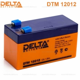 Аккумулятор Delta 12V DTM 12012
