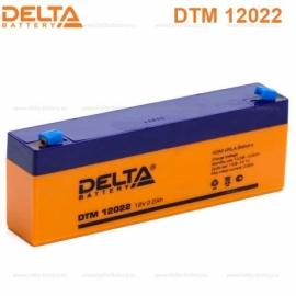 Аккумулятор Delta 12V DTM 12022