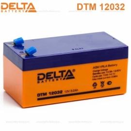 Аккумулятор Delta 12V DTM 12032