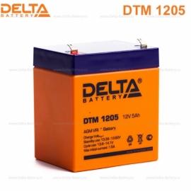 Аккумулятор Delta 12V DTM 1205