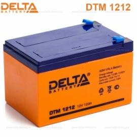 Аккумулятор Delta 12V DTM 1212