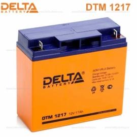 Аккумулятор Delta 12V DTM 1217