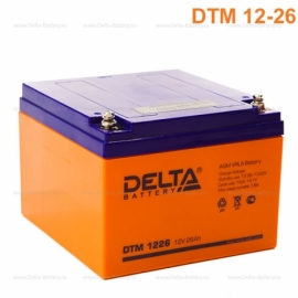 Аккумулятор Delta 12V DTM 1226