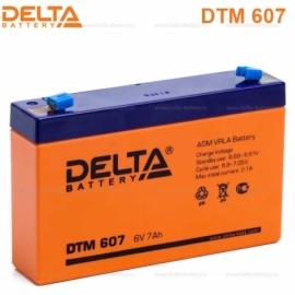 Аккумулятор Delta  6V DTM 607