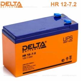 Аккумулятор Delta 12V HR 12-7.2