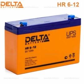 Аккумулятор Delta 6V HR 6-12.