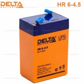 Аккумулятор Delta 6V HR 6-4.5