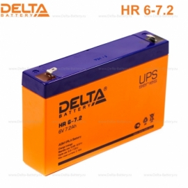 Аккумулятор Delta 6V HR 6-7.2.