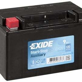 Аккумулятор Exide START-STOP (AGM) EK091 ПП гелевая